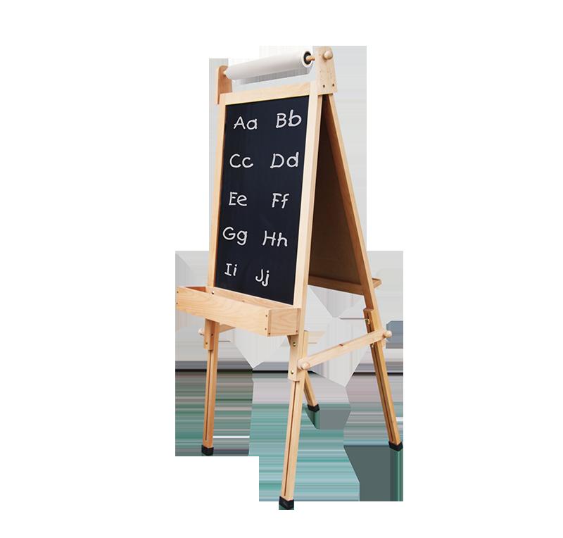 fundamental children s easel. Black Bedroom Furniture Sets. Home Design Ideas