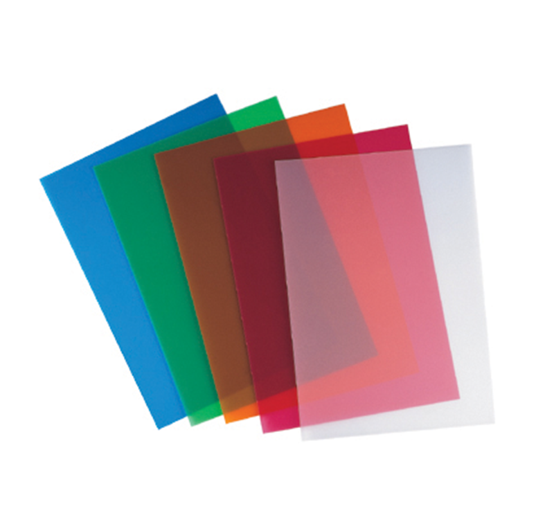 Colored transparent sheets 28 images colored for Plaque ondulee polycarbonate transparent